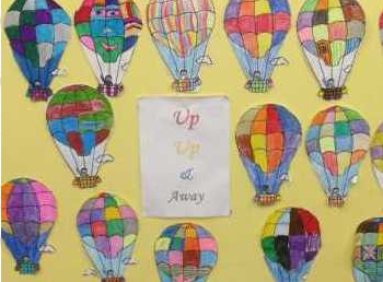 1st, 2nd and 3rd classes. Up, up and away!