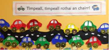 Ms Guilfoyles's Room Junior and Senior Infants.Timpeall, Timpeall