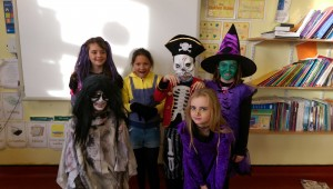 Halloween 4th class
