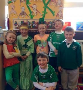Irish day seniors