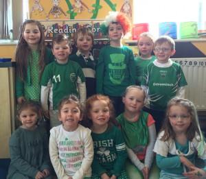 Juniors irish day