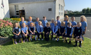 Record number of new junior infants!
